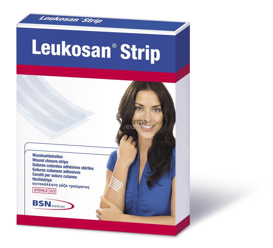 Leukosan Strip Ster 6x 38mm Wit 2x 6 7262806