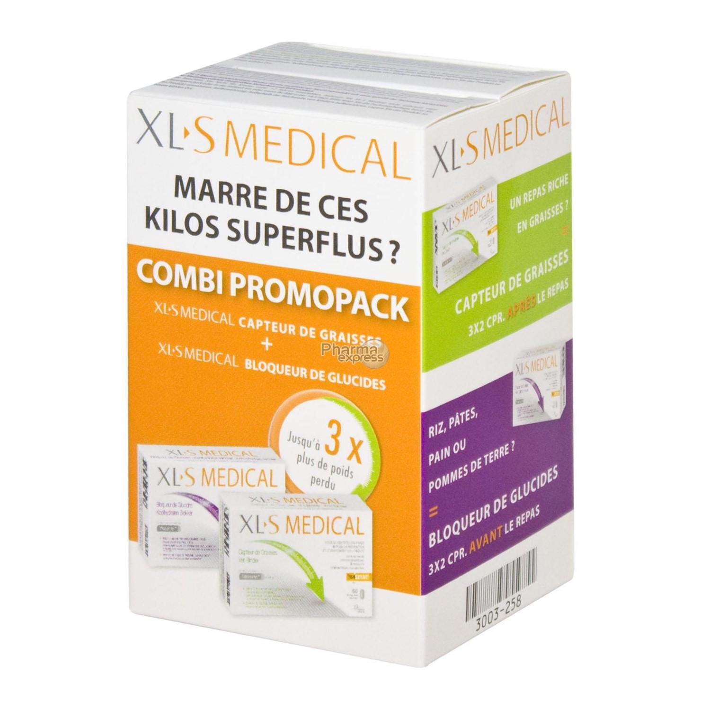 Xls Medical Startpack Bloqueur de Glucides + Capteur de ...