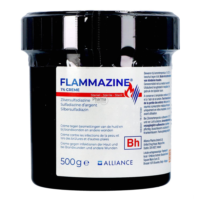 Flammazine Creme Format Clinique 500 gr