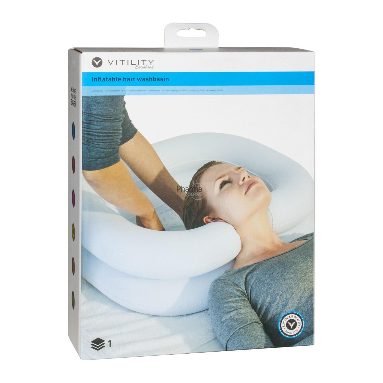 Vitility Bac Gonflable Pour Laver Les Cheveux