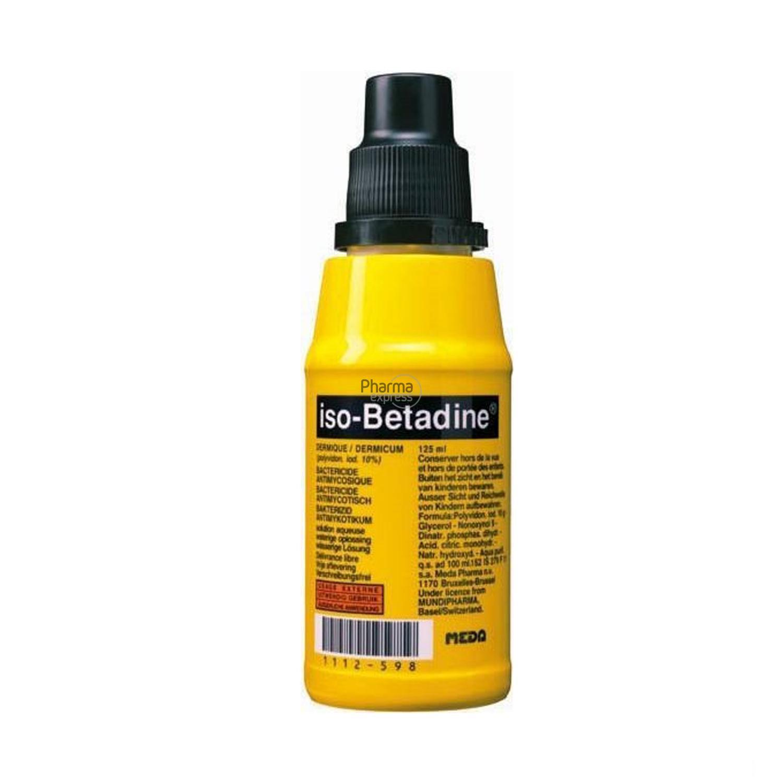 la betadine est un antiseptique en solution aqueuse