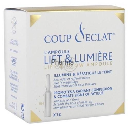 Coup d 39 eclat lifting beaute 12 ampoules - Coup eclat lifting ampoules ...